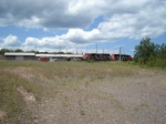 CN Power Rests In The Yard
